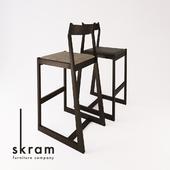 SKRAM / lineground # 2 stool