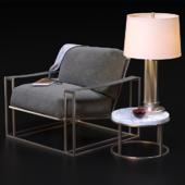Milo Baughman Model # 1233 Thayer Coggin Chair set