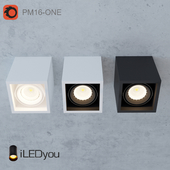 Surface-mounted luminaire CUB-ONE 8 W