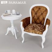 Armchair abd coffee table - Panamar