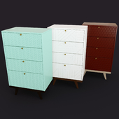 High chest of drawers THIMON