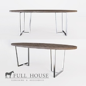 Dining table oval FULL HOUSE OM