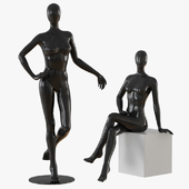 Abstract female mannequin