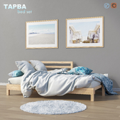 Bed daybed IKEA TARVA set 2