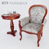 Armchair abd coffee table - Panamar 2