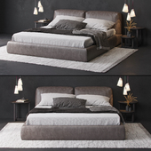 Poliform bolton bed