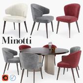 """Minotti Aston """"Dining"""" set"""