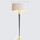 Exquisitel Laurel Mid Century Modern Rosewood Floor Lamp