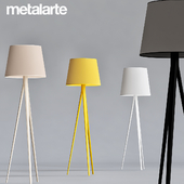 Triana Floor Lamp by Metalarte