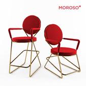 Double Zero chairs from Moroso