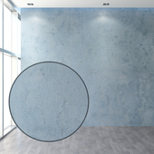 Set of plaster in cold colors