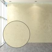 Set of plaster in warm tones