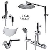 set of mixers, shower set Oras 2808F + 2892U