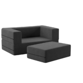 Duncan Big Kids Loveseat and Ottoman