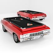 chevrolet impala 1967 billiard