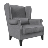 Charcoal Graham Chair