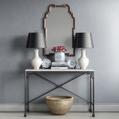 Jessica Walmsley interiors - decorative set