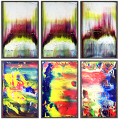 Paintings abstract | set 77