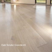 Parquet board Barlinek Floorboard - Senses Collection - Oak Tender Grande