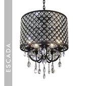 chandelier_Escada 10158/5 E14 * 60W Black