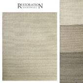 Raised Zigzag Wool Rug RH