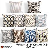 Decorative pillows set 095