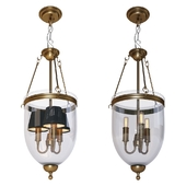 Suspended chandelier - Lantern Cameron S from Eichholtz factory