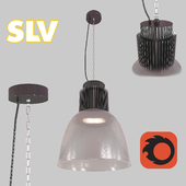 SLV PARA BOWL LED, transparent / refract
