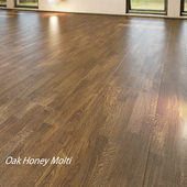 Parquet board Barlinek Floorboard - Decor Line - ak Honey Molti