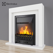 Electric fireplace with Electrolux EFP / S 4020WS white