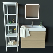 Ikea bathroom set