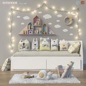 Toys and daybed IKEA FLEKKE set 14