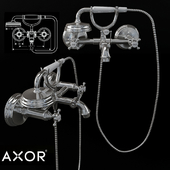 AXOR MONTREUX 2-handle bath mixer for exposed installation