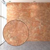 Embossed decorative plaster