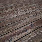 Wood Planks Worn