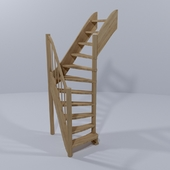 Ladders rotatable by 90 ° ЛС-91, universal