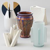 A set of vases