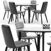 Rolf Benz 616 chair set 01