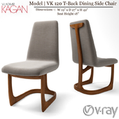 VK 120 T-Back Dining Side Chair