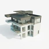 Индивидуальный жилой дом в современном стиле. Общая площадь 250 м.кв.