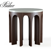 Arcade Center Table With Stone Top