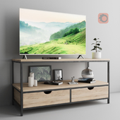TV sideboard Simple Line