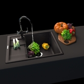 Anthracite kitchen