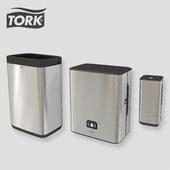 TORK Image Design dispensers + basket