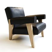 pierre jeanneret armchair