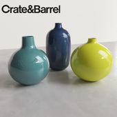 Perry Vases by Crate & Barrel