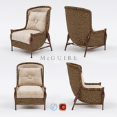 The Mustique Sedan Chair from McGuire