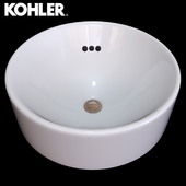 Vox Round Bathroom Sink by Kohler