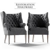 Restoration Hardware Wing Chair