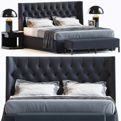 BED BY MERIDIANI 1